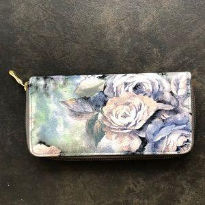 Floral wallet/clutch